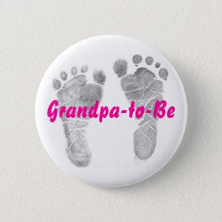 Grandpa-to-Be Button