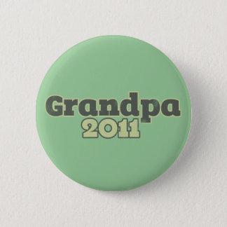 Grandpa to be in 2011 button