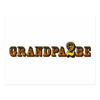 Grandpa To Be Postcard