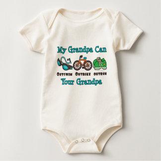 Grandpa Triathlon Organic Infant Creeper