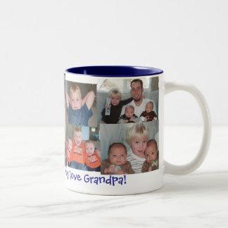 Grandpa Two-Tone Coffee Mug