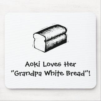 Grandpa White Bread Mouse Pad