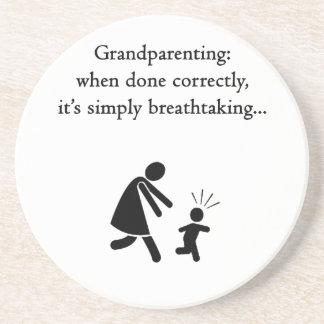 grandparent2.png sandstone coaster