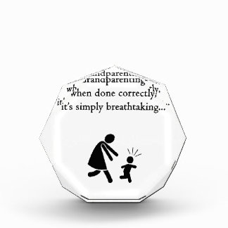 Grandparenting is Breathtaking Acrylic Award