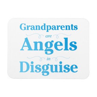 Grandparents are Angels in Disguise Magnet