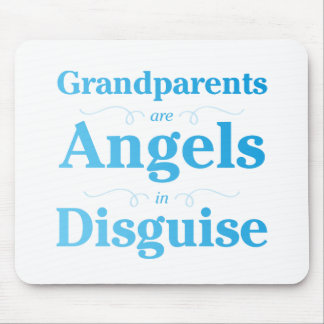 Grandparents are Angels in Disguise Mouse Pad