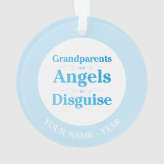 Grandparents are Angels in Disguise Ornament