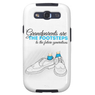 Grandparents are the footsteps to the future gener samsung galaxy SIII funda