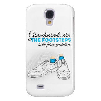 Grandparents are the footsteps to the future gener HTC vivid funda