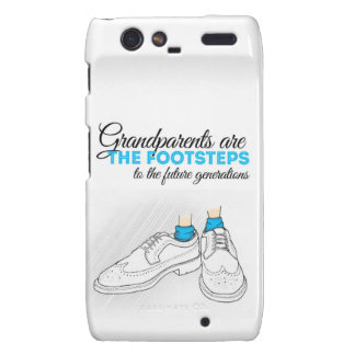 Grandparents are the footsteps to the future gener droid RAZR carcasa