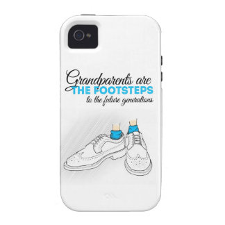 Grandparents are the footsteps to the future gener Case-Mate iPhone 4 fundas