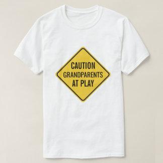Grandparents at Play Funny T-Shirt