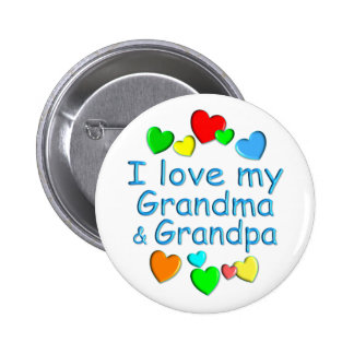 Grandparents Pinback Button