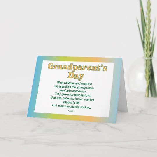 Grandparents day 2 greeting card zazzle grandparents day 2 greeting card m4hsunfo