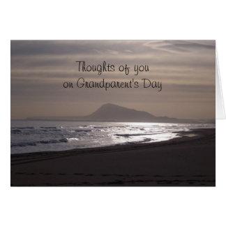 Grandparents Day Card Sunrise Over The Sea