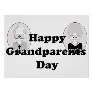 Grandparents Day - Couple Poster
