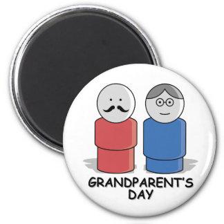 Grandparents Day 2 Inch Round Magnet