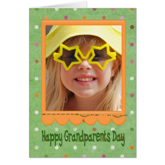 Grandparents Day photo card