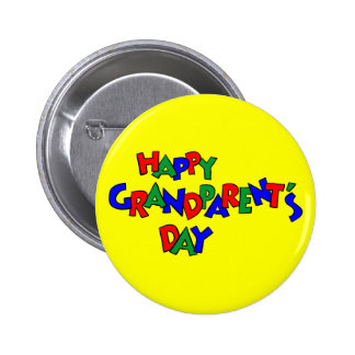 Grandparent's Day - Pinback Button