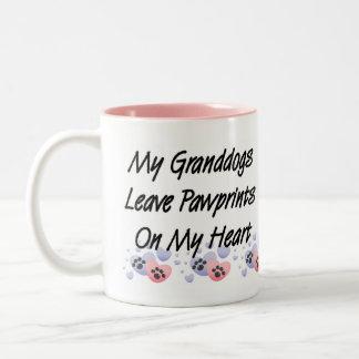 Grandparents Dog Grandchildren Mug