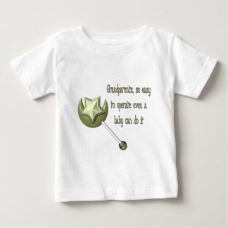 Grandparents easy to operate baby T-Shirt