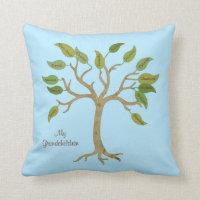 Grandparent's Family Tree Pillow