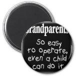 Grandparents Fridge Magnet