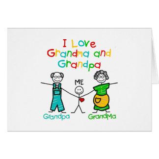 Grandparents Gift Greeting Card