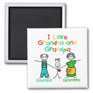 Grandparents Gift Refrigerator Magnet