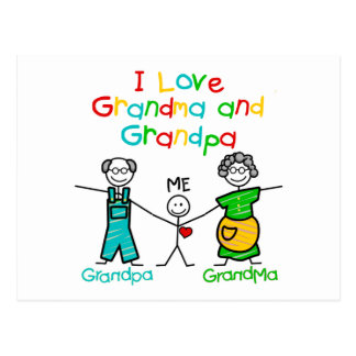 Grandparents Gift Postcard