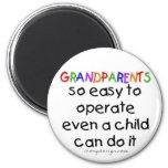 Grandparents Love Fridge Magnet