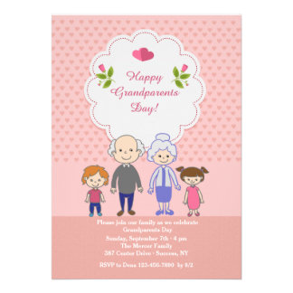 45+ Happy Grandparents Day Invitations, Happy Grandparents ...