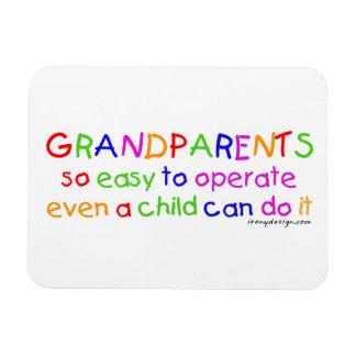 Grandparents Love Rectangular Photo Magnet
