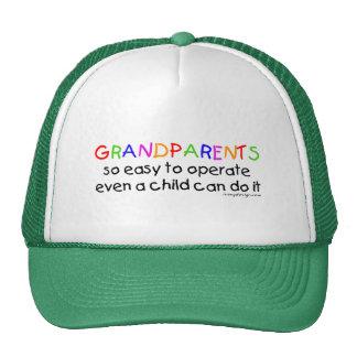 Grandparents Love Trucker Hat