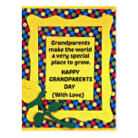 Grandparents make the world a special place... post cards