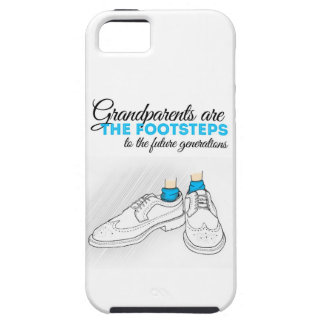 Grandparents plows the footsteps to the future to  iPhone SE/5/5s case