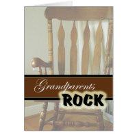 Grandparents Rock-Happy Grandparents Day Card