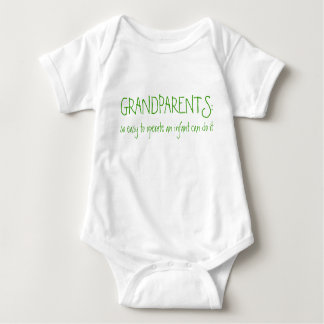 GRANDPARENTS:, so easy to operate an infant can... Baby Bodysuit