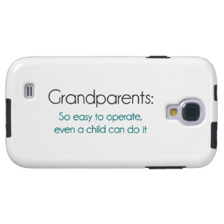 Grandparents So Easy To Operate Galaxy S4 Case