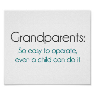Grandparents So Easy To Operate Print