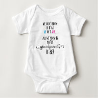 Grandparents To Be Announcement Infant Bodysuit