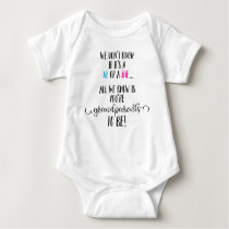 Grandparents To Be Announcement Infant Bodysuit