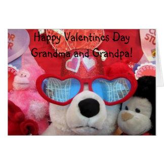 Grandparents valentine card