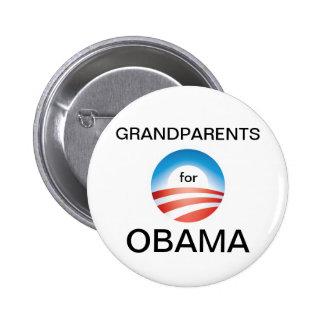 Grandparents Vote Obama 2 Inch Round Button