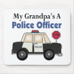 Grandpa's A Police Officer Mouse Pad