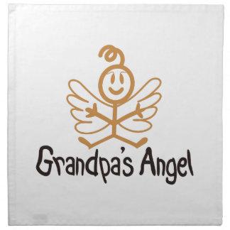 Grandpas Angel Napkin