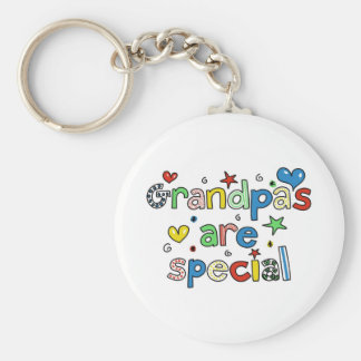 Grandpas are Special Keychain