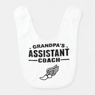 Grandpa's Assistant Track Coach Bib