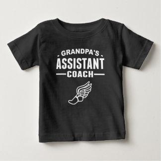 Grandpa's Assistant Track Coach Infant T-shirt