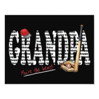 Grandpa's Birthday Party Invite